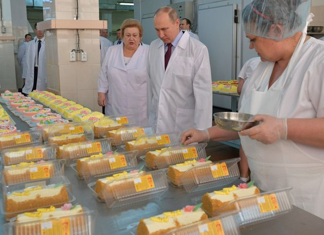 Putin and some presumably delicious