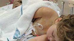 Kein Arzt traute sich, die 6-jährige Freyja zu operieren – dann rettet ihr ein Roboter das
