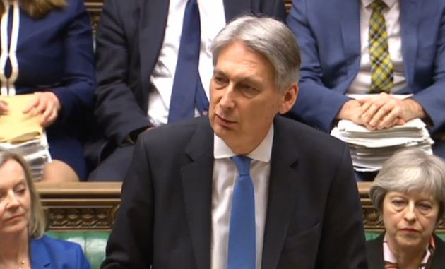Chancellor Philip Hammond delivers the Spring