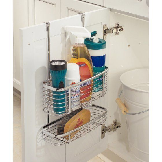 10 Amazing Ideas To Utilize The Space Under The Sink For Storage: Space-Saving Storage Ideas That Will Maximize Your Small
