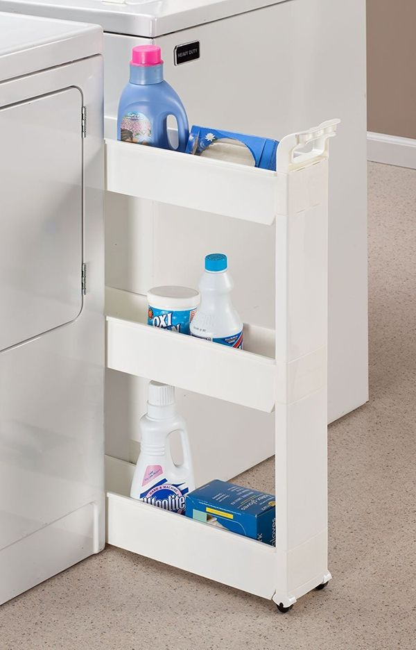 Think that tight, unused space can't be of any use to you? Think again. Turn itinto some serious storage with this 3-ti