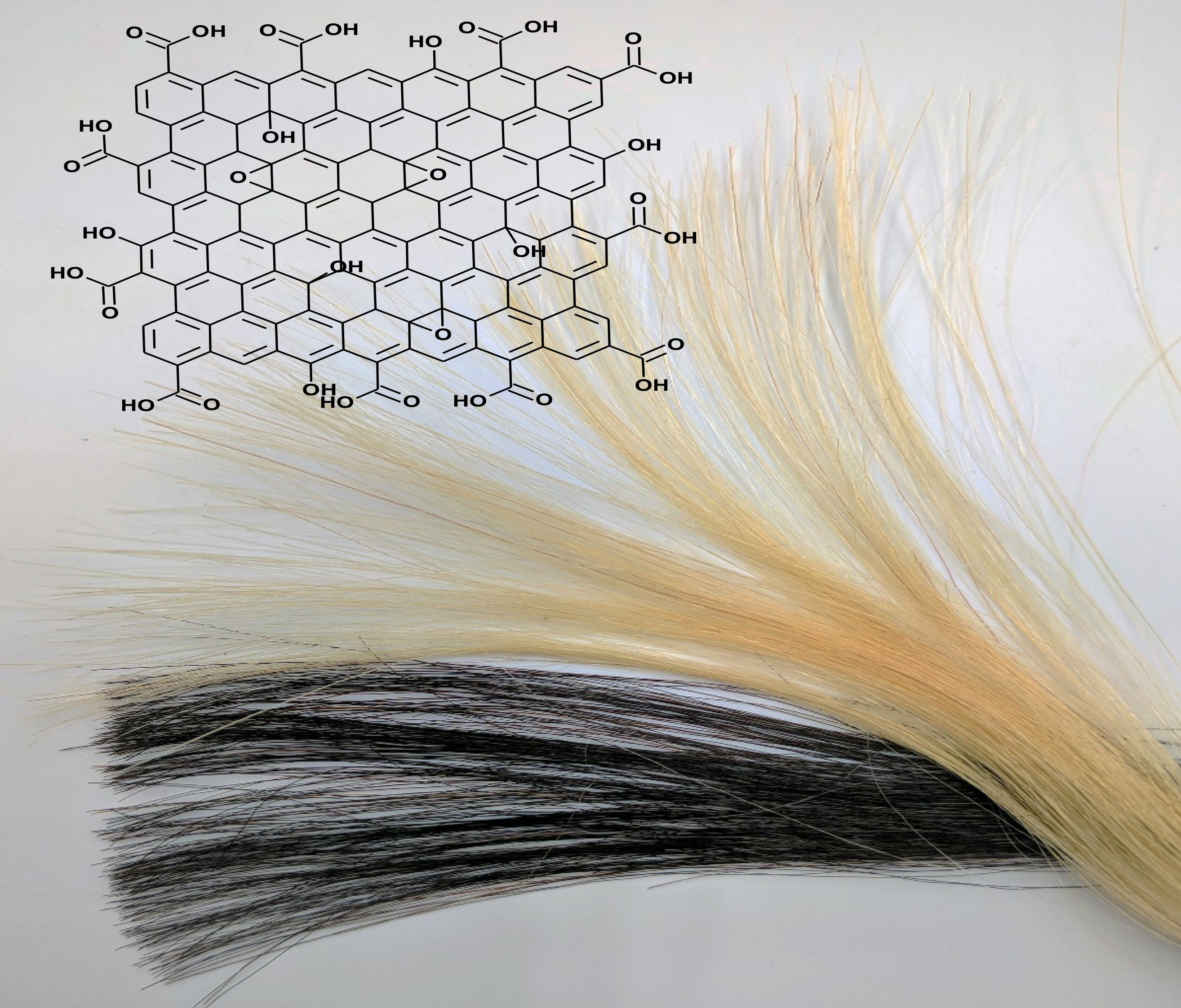 How Graphene Could Allow You To Dye Your Hair Without Damaging