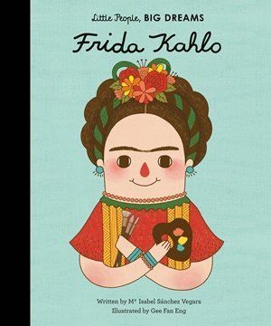 "This book teaches kids about the life of artist <a href=""https://www.huffpost.com/entry/frida-kahlo-birthday_n_577c2871e4b0a6"