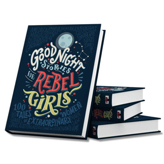 <i>Good Night Stories For Rebel Girls&nbsp;</i>is a wildly popular book that started as a Kickstarter project and is filled w
