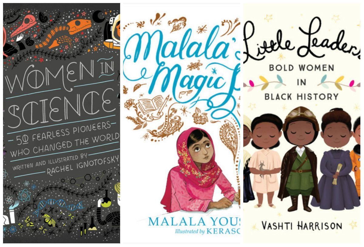 Celebrate Women's History Month during family reading time with the books below.