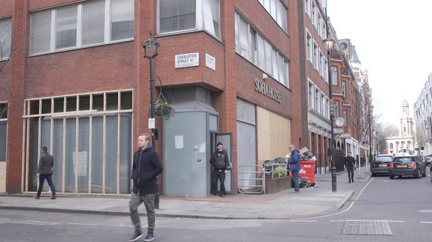 Rough Sleeper 'Death Fears' As Sophia House Homeless Shelter Prepares For Eviction