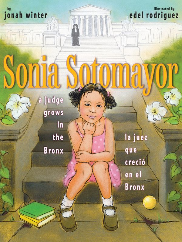 "This bilingual book shows kids how <a href=""https://www.huffpost.com/entry/sonia-sotomayor-not-everyone-can-just-pull-themsel"