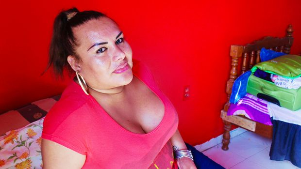 Fanny Romero a sex worker in southern Mexico allows acquaintances to rent out her apartment when they have no other place to meet clients