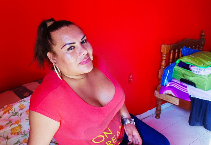 Fanny Romero, a sex worker in southern Mexico, allows acquaintances to rent out her apartment when they have no other place t