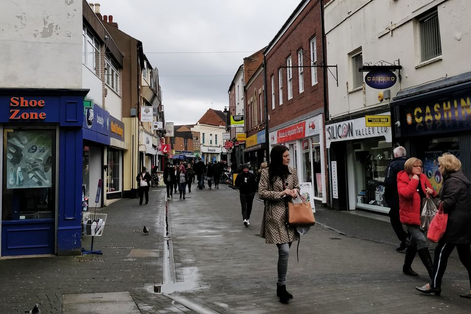 Wellington high street. This area of Telford has been at the heart of the