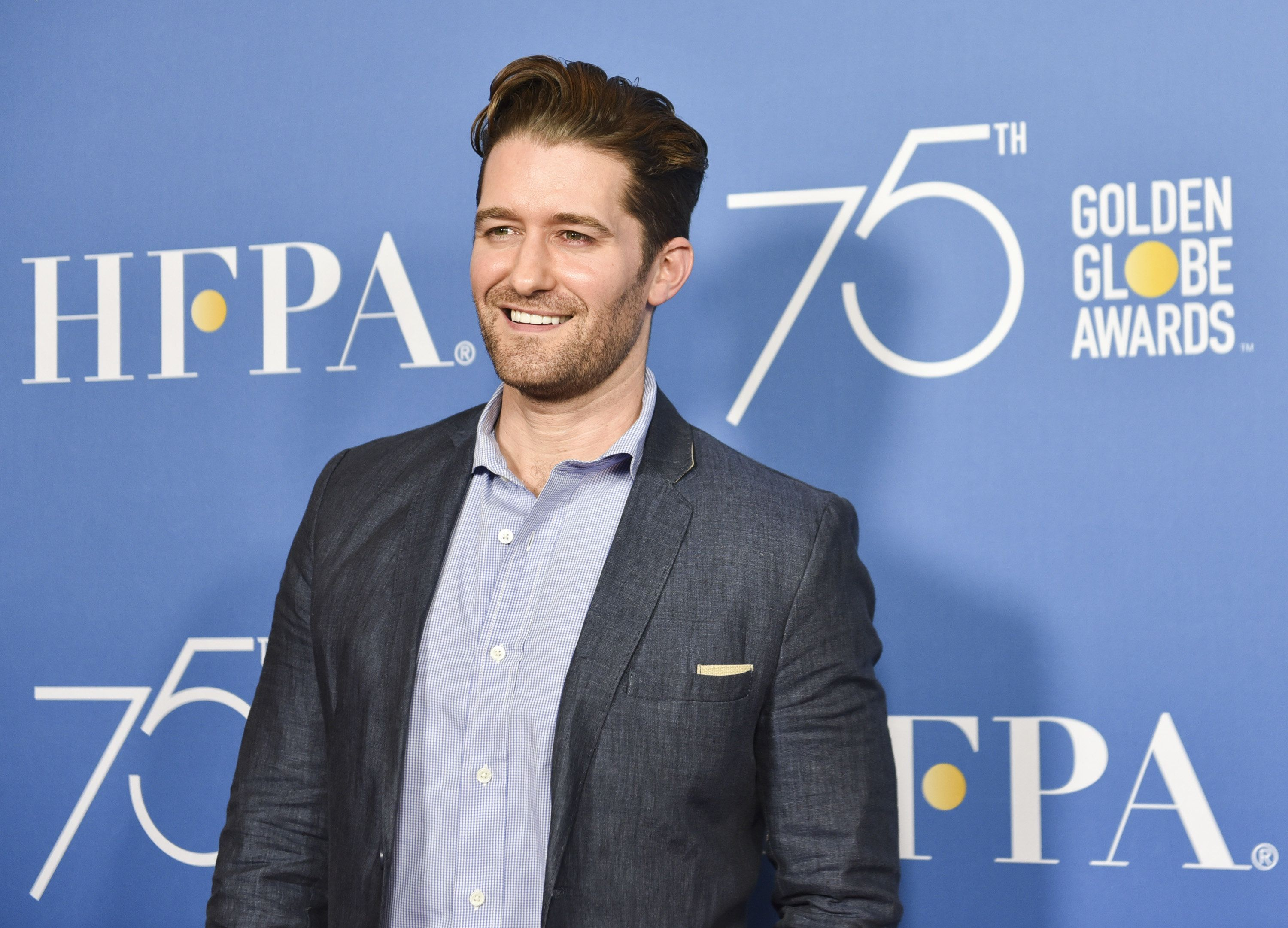 BEVERLY HILLS, CA - OCTOBER 26:  Actor Matthew Morrison attends the Hollywood Foreign Press Association Hosts Television Game Changers Panel Discussion at The Paley Center for Media on October 26, 2017 in Beverly Hills, California.  (Photo by Rodin Eckenroth/WireImage)