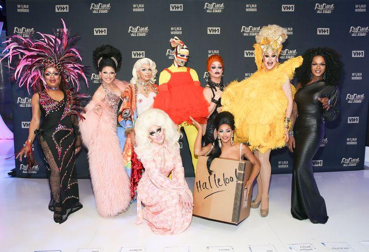 """The cast of """"RuPaul's Drag Race All Stars"""" Season 3."""