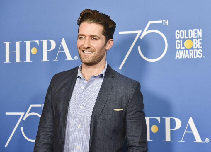 "Matthew Morrison says he's ""called the producers to express my outrage"" over the apparent abuse of a German shepard on the se"