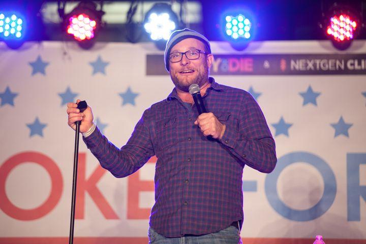 Comedian James Adomian