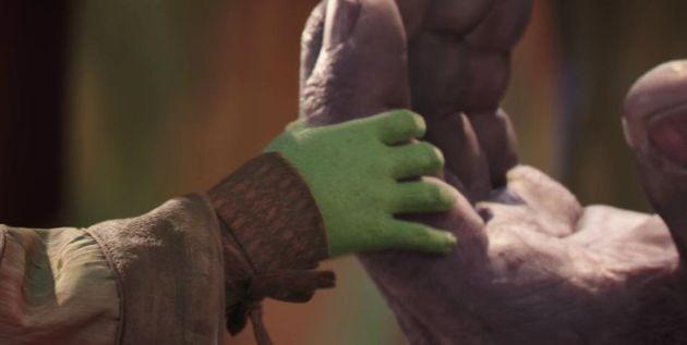 '어벤져스 : 인피티니 워'의 공식 예고편에서 가장 강렬한