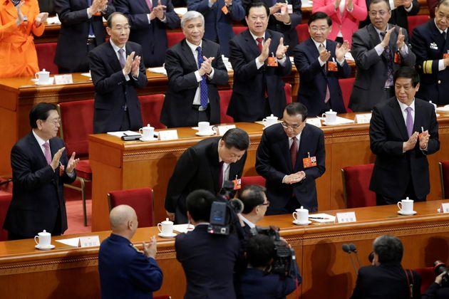 중국이 시진핑을 국가 주석으로