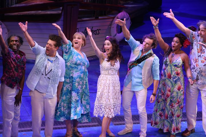 In 'Margaritaville,' Broadway's Lisa Howard Finds Strength And Self-Worth
