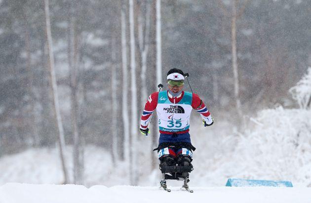 신의현, 한국 동계패럴림픽 사상 첫번째 금메달
