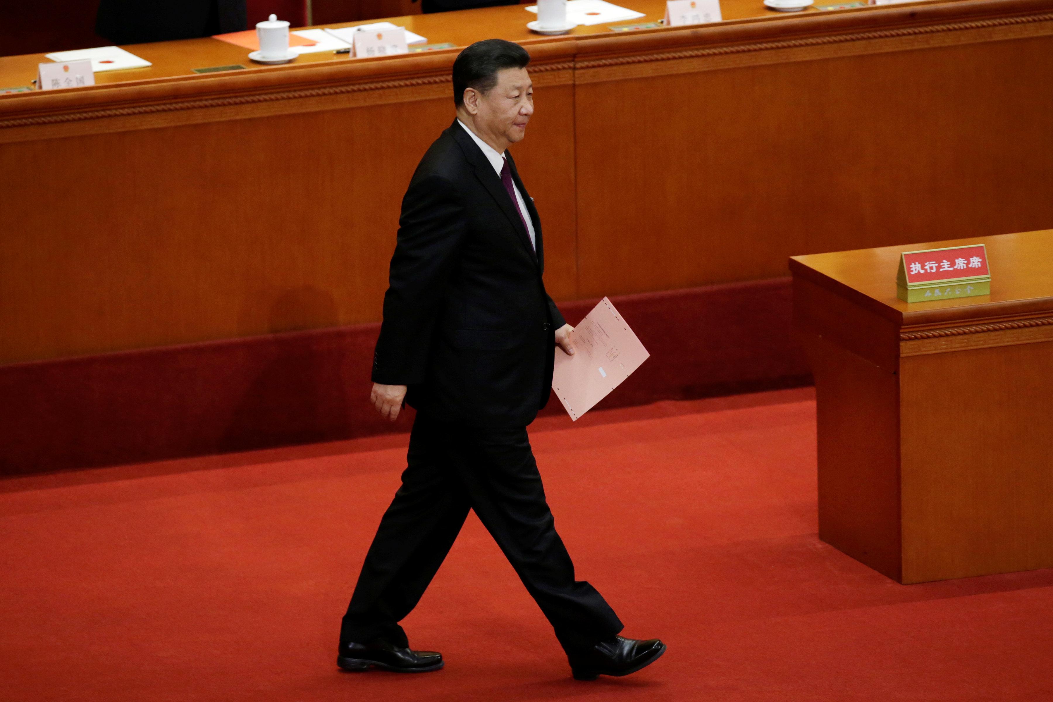 Επανεξελέγη πρόεδρος της Κίνας ο Σι