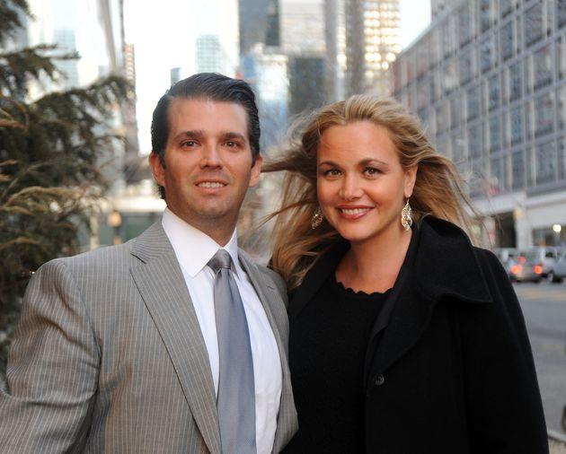 Χωρίζουν οι Donald Trump Jr με τη σύζυγό του Vanessa μετά από 12 χρόνια