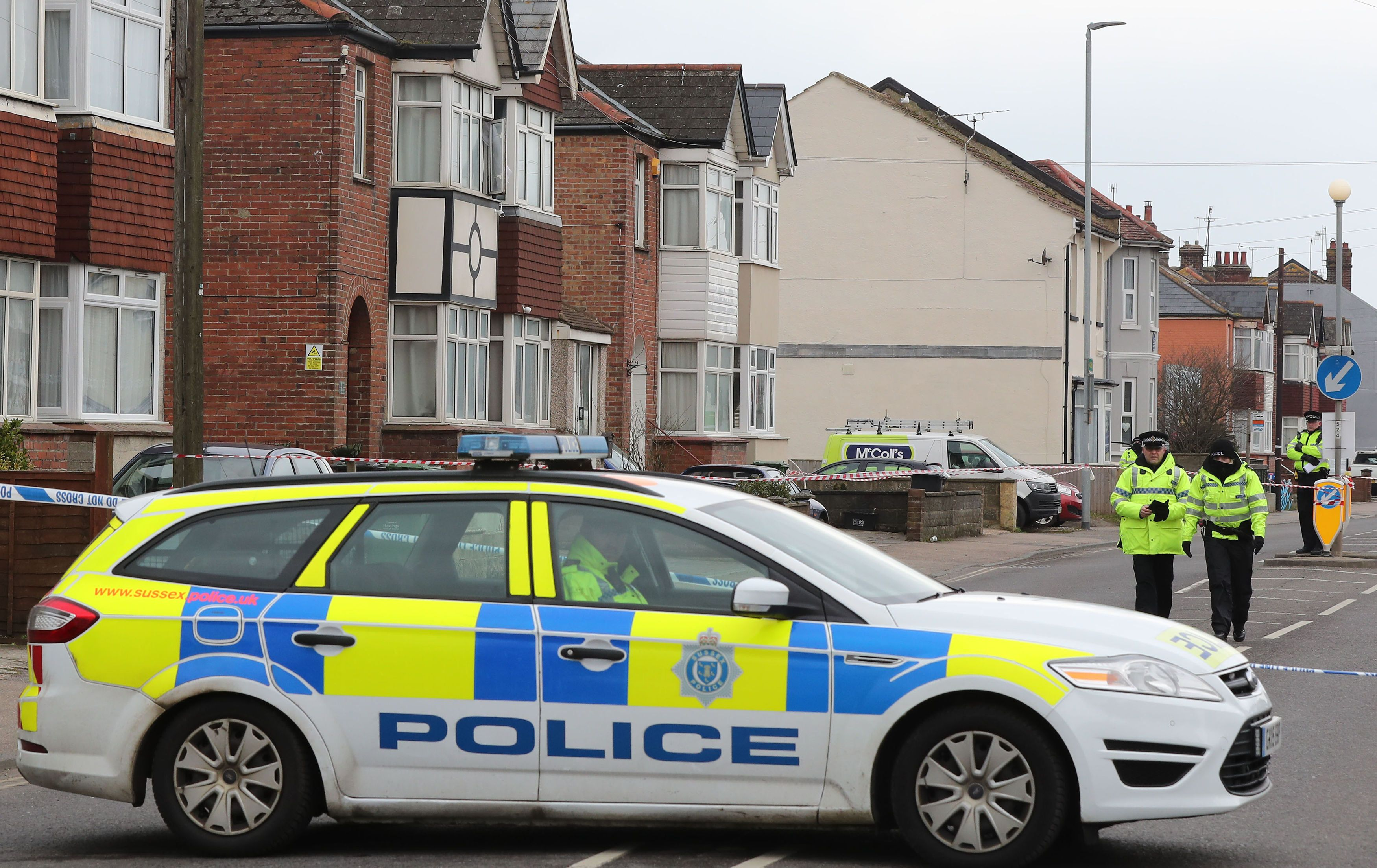 Two women shot dead at house in East Sussex