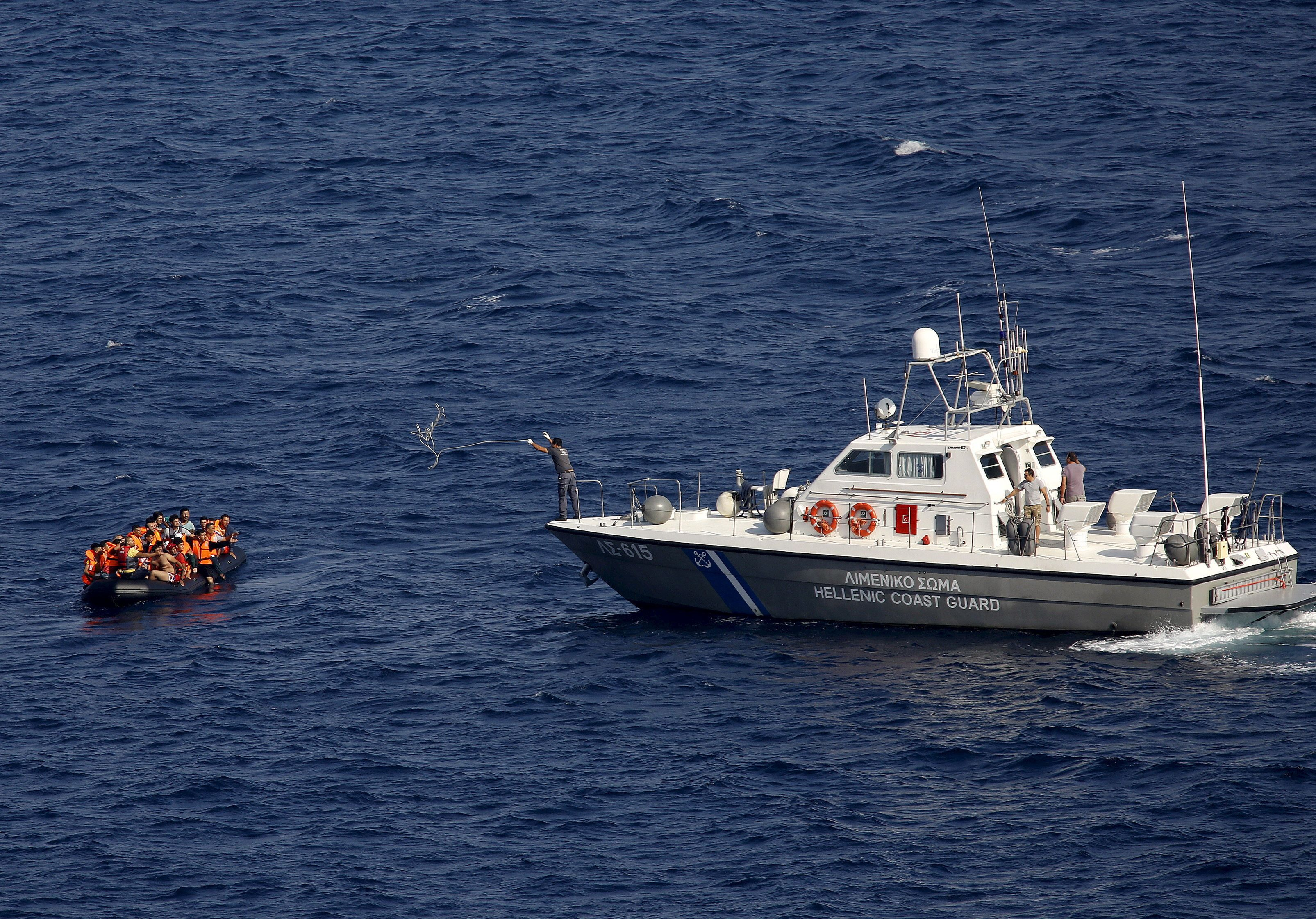 At Least 16 Dead After Migrant Boat Capsizes Off Greek Coast