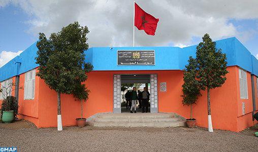 Lalla Hasnaa visite l'éco-école