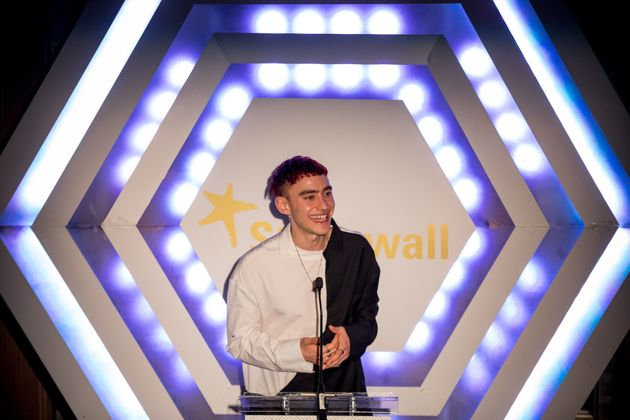 Olly Alexander at the Stonewall equality