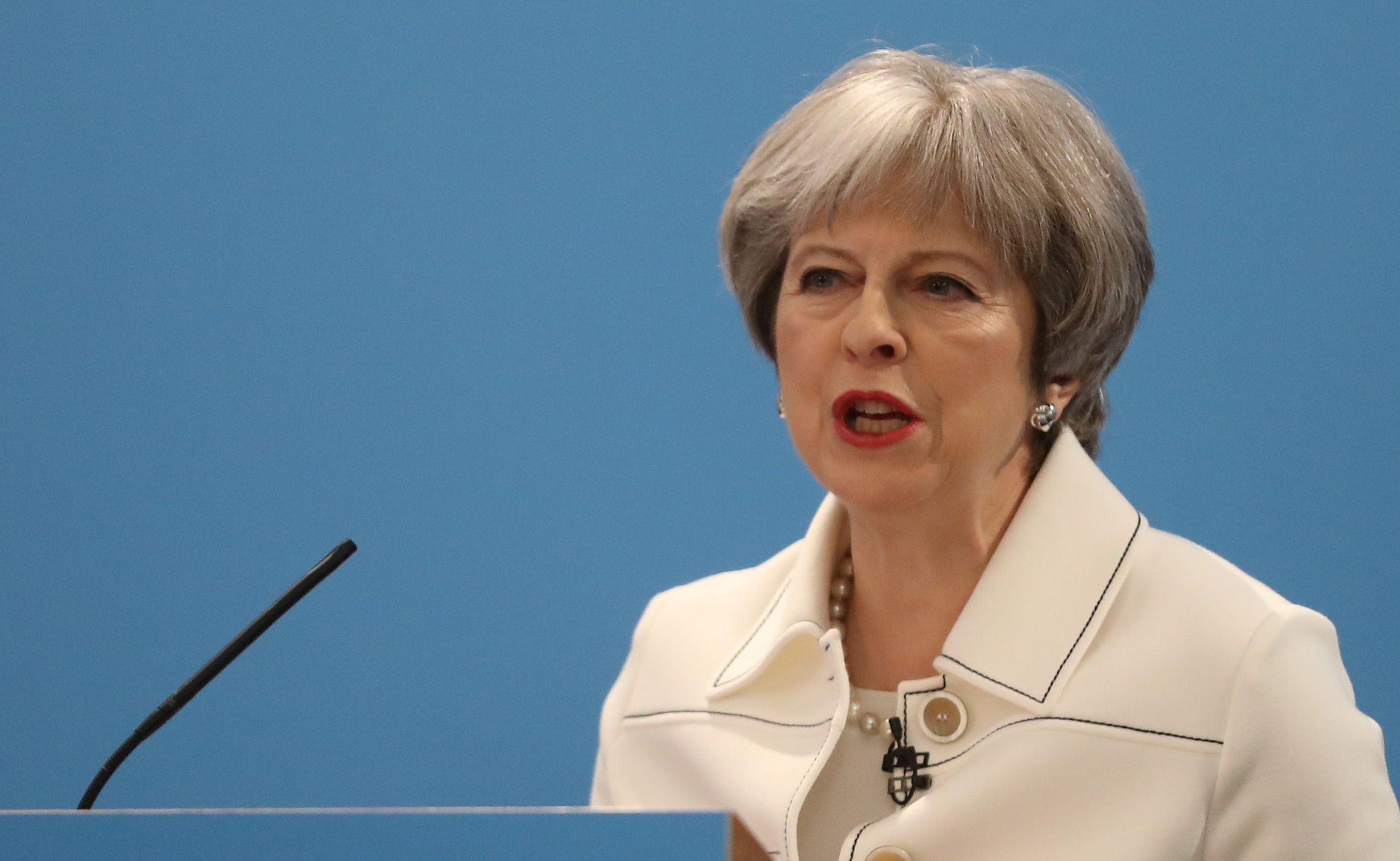 Theresa May: Voters do not trust Tories on public services