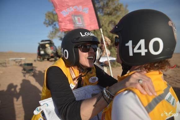 Coup d'envoi de la 28ème édition du Rallye Aïcha des