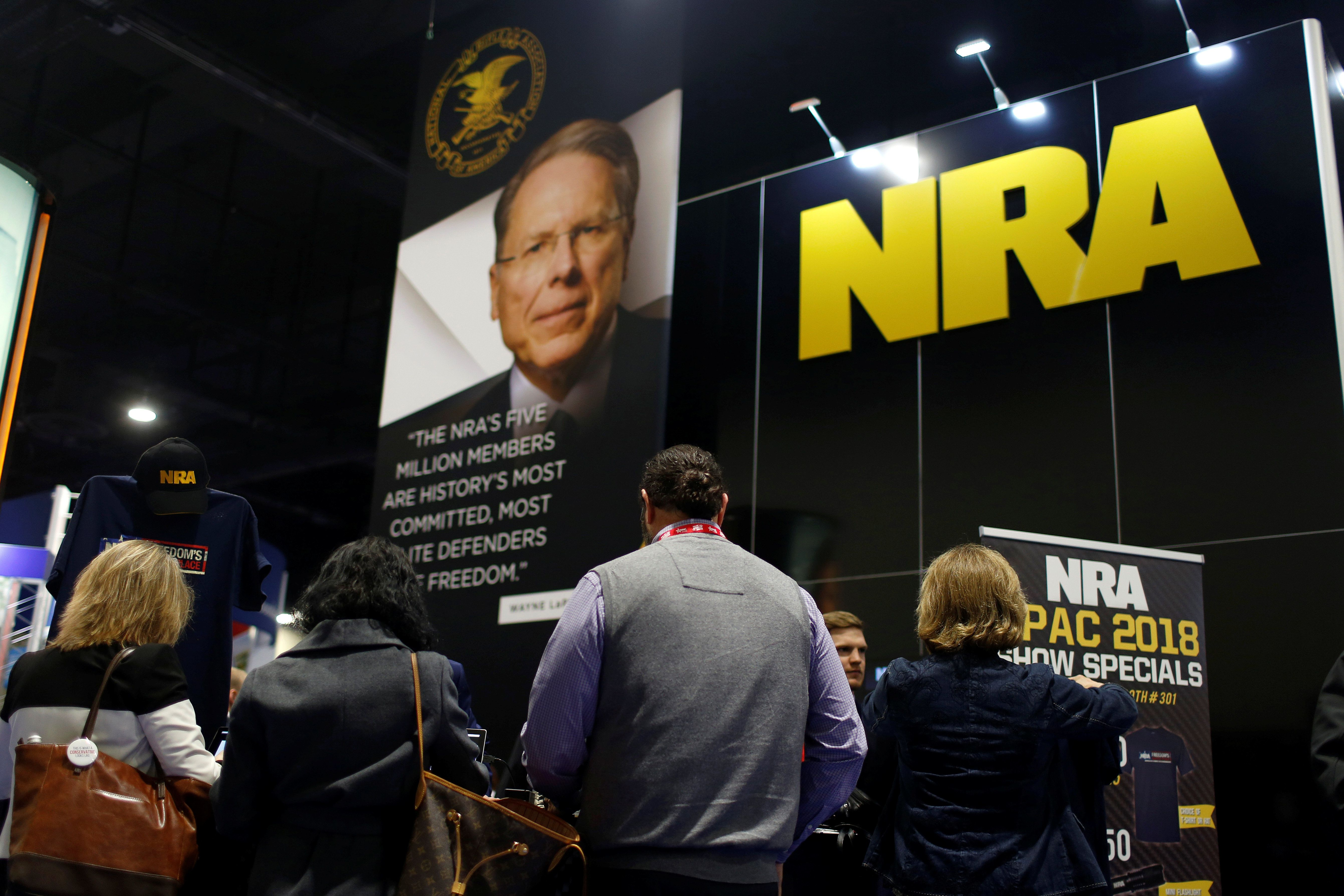 Report: FEC Probing Whether NRA Took Russian Funds For Trump Campaign