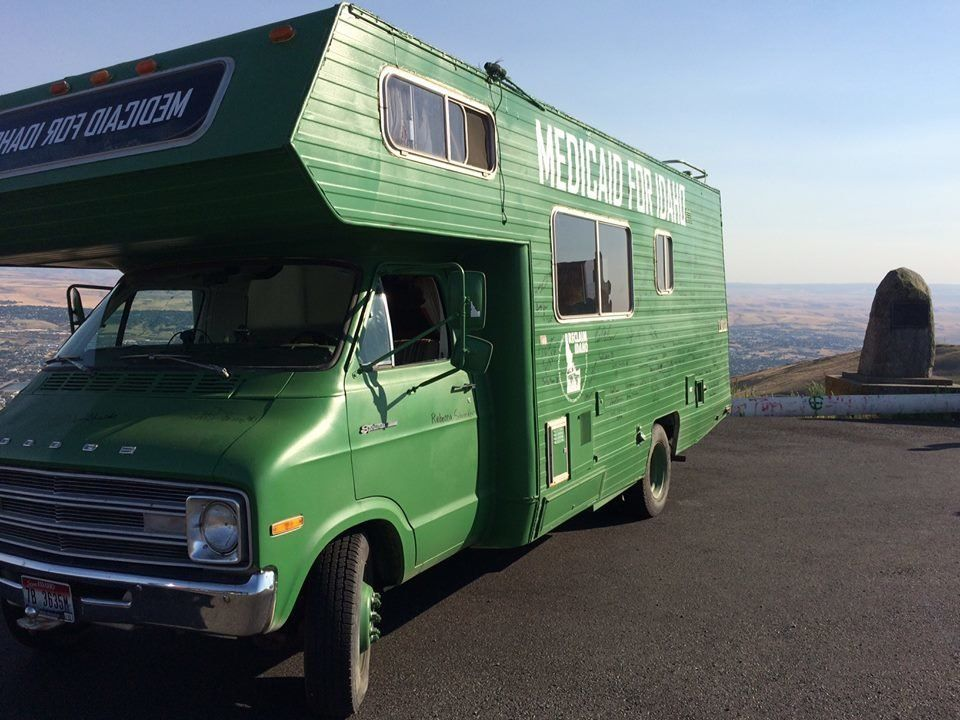 Reclaim Idaho organizers traveled around the Gem State all year in one of their two RVs, campaigning for Medicaid expansion.