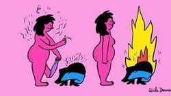 다양한 색을 담아 '모든 종류'의 여성을