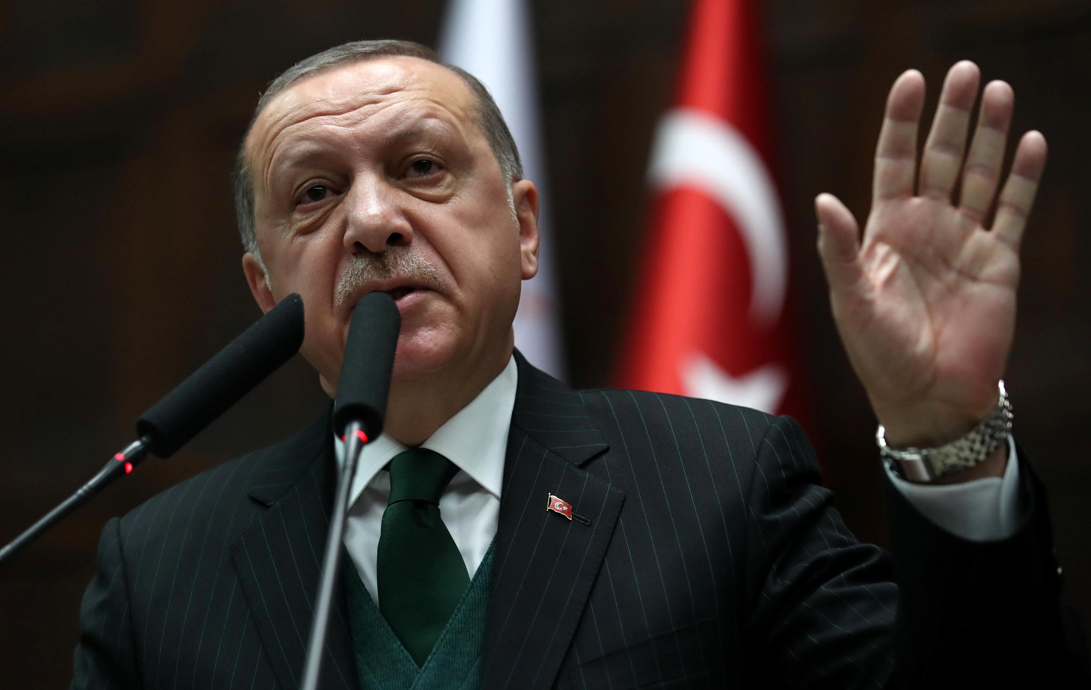 Erdogan vermeldet Einnahme des Zentrums von syrischer Stadt Afrin