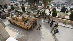 Syrie: les forces turques et leurs alliés entrent dans la ville