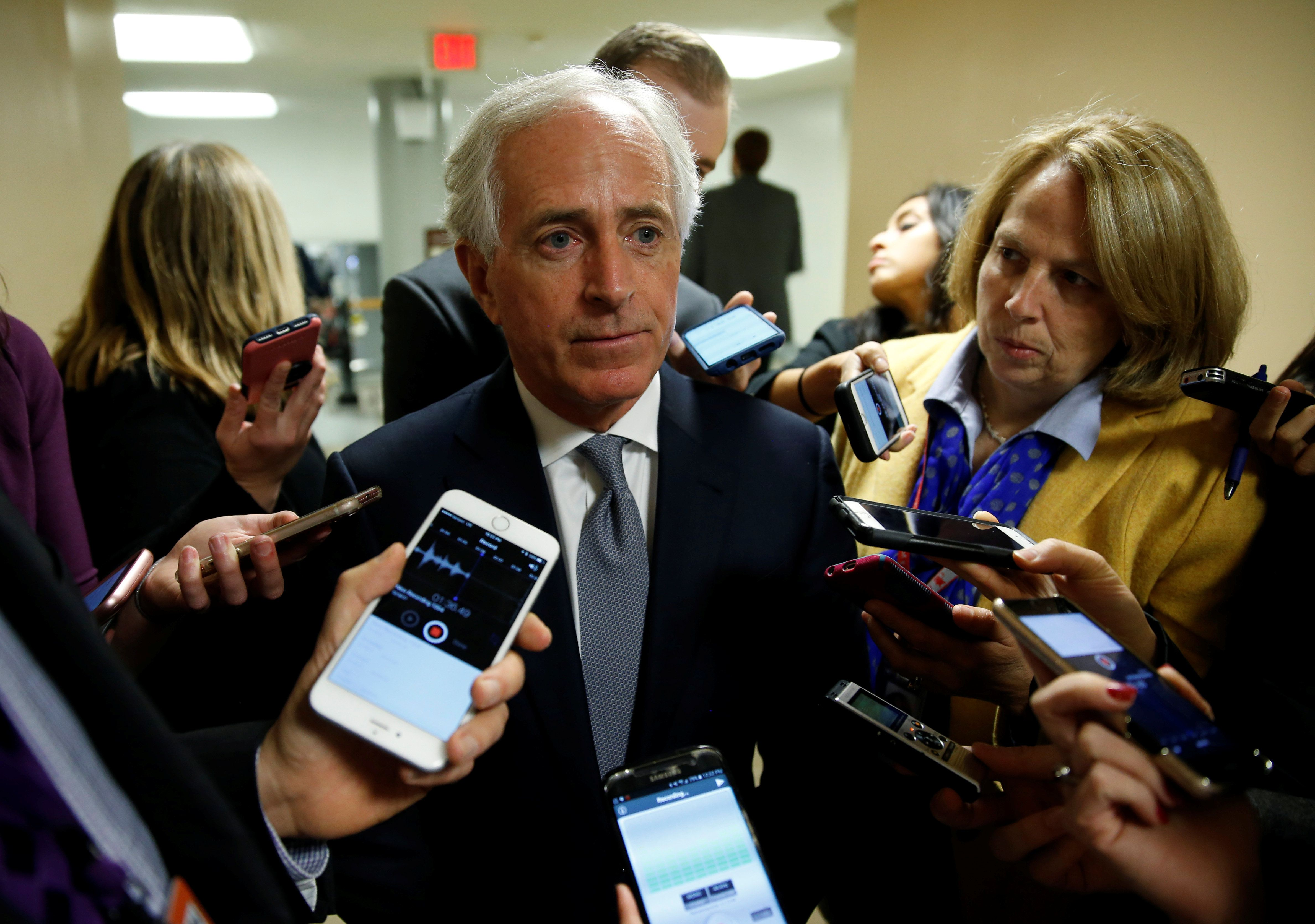 GOP Senator Bob Corker Expects Trump To Pull Out Of Iran Nuclear Deal