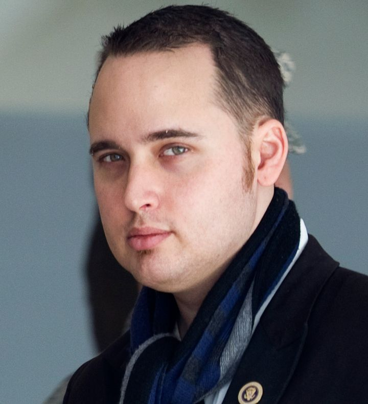 Adrian Lamo, a former computer hacker who reported Chelsea Manning to authorities, is seen in 2011.