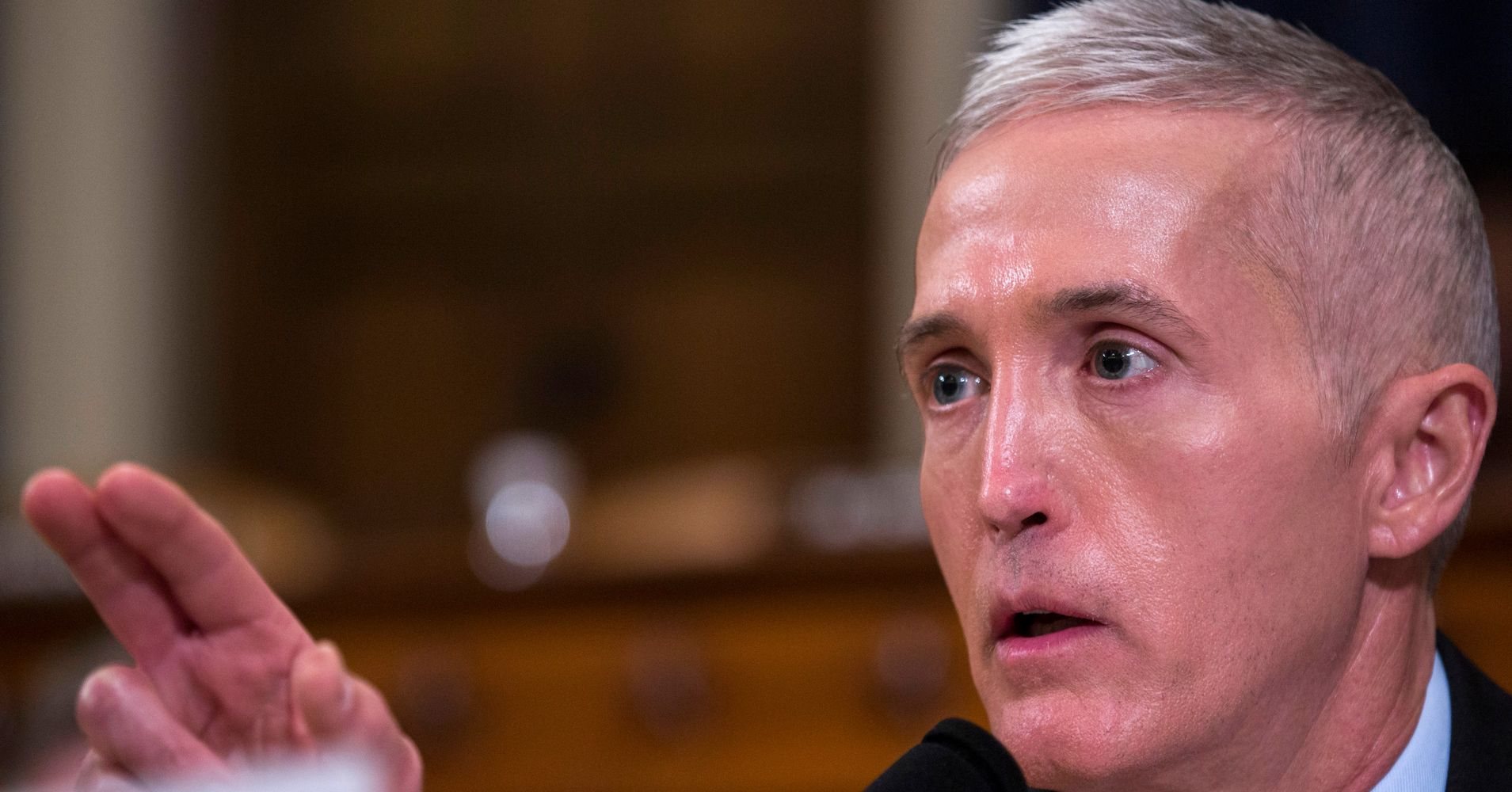 Rep. Trey Gowdy To Trump's Lawyer: If You Have An Innocent Client, 'Act Like It'