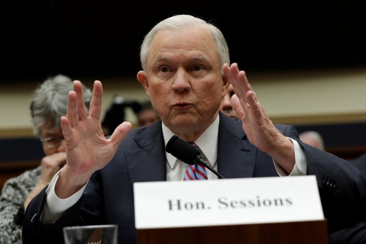 U.S. Attorney General Jeff Sessions testifies before a House Judiciary Committee hearing on oversight of the Justice Departme