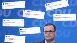 Jens Spahn sorgt derzeit für reichlich Wirbel – nun ätzen Twitter-Nutzer