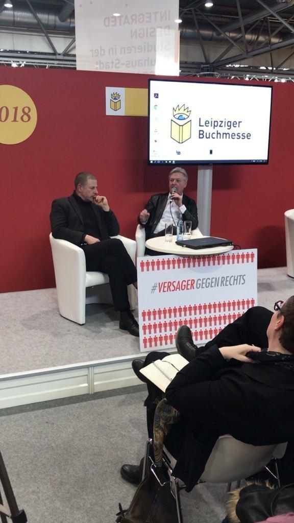 Wie die Neue Rechte auf der Leipziger Buchmesse vom Regimesturz träumt