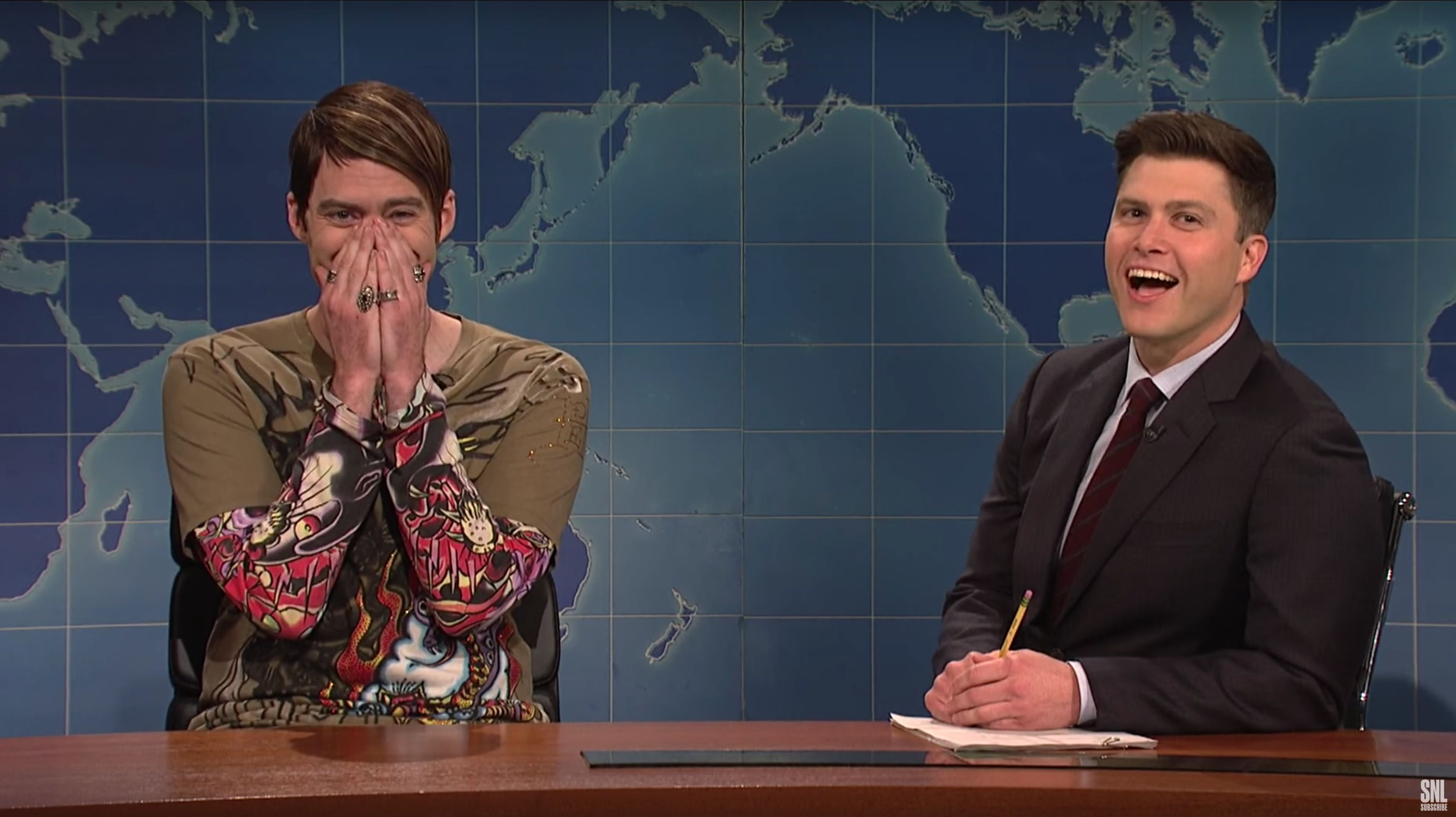 Bill Hader Loses It Playing 'Stefon' In His Return As 'SNL' Host
