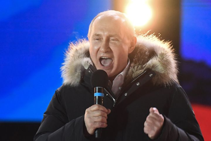 Putin's comments came after he was re-elected as Russia's president