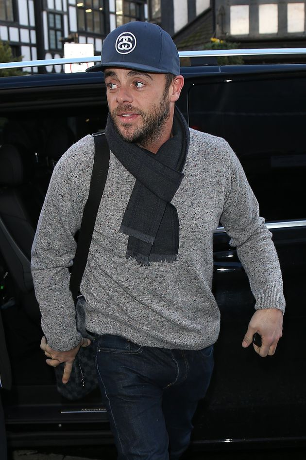 Ant McPartlin, pictured here in