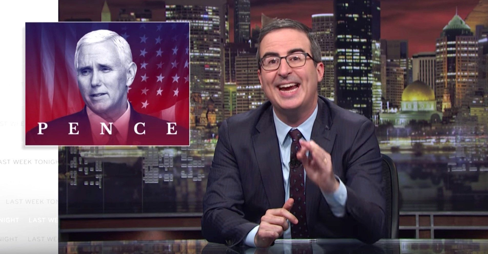 John Oliver Desires Your Assist Telling Mike Pence To 'Go F**okay Himself'