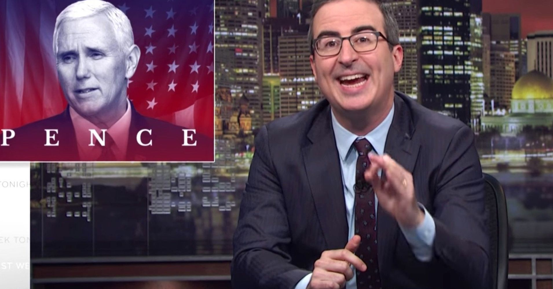 John Oliver Wants Your Help Telling Mike Pence To 'Go F**k Himself'