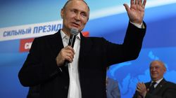 Vladimir Poutine largement réélu dès le 1er tour de l'élection présidentielle