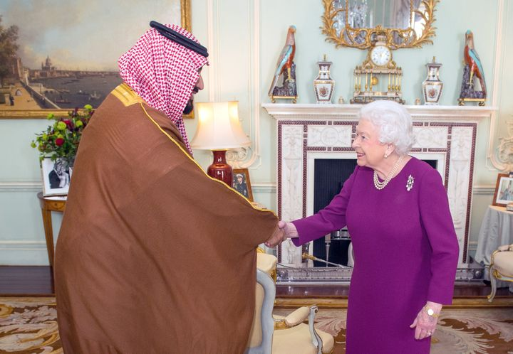 As part of a tour of Western countries to promote the changes he's making in Saudi Arabia, Crown Prince Mohammed bin Salman v