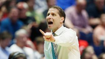 NASHVILLE, TN - MARCH 18:  Head coach Eric Musselman of the Nevada Wolf Pack directs his team against the Cincinnati Bearcats during the second half in the second round of the 2018 Men's NCAA Basketball Tournament at Bridgestone Arena on March 18, 2018 in Nashville, Tennessee.  (Photo by Andy Lyons/Getty Images)