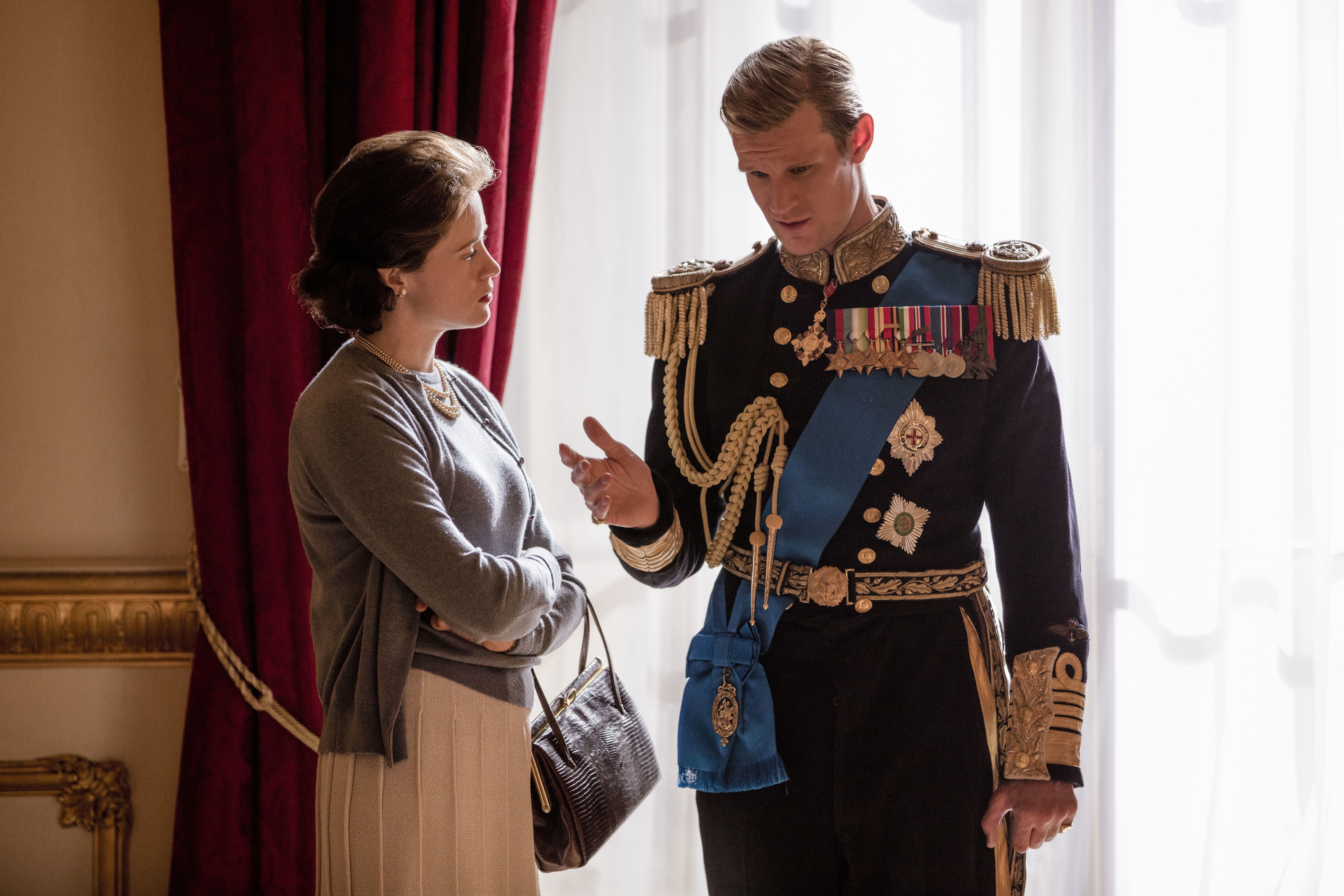The Crown's Matt Smith urged to donate salary difference to Time's Up